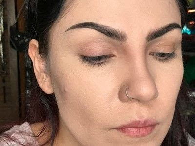 How to makeover an eyebrow. How To Fill Very Sparse Brows  - Step 7