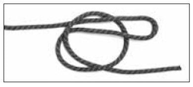 How to tie a knot. Oysterman's Stopper Knot - Step 2