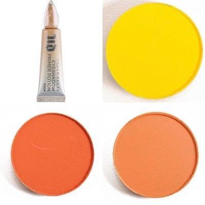 How to create a black eye makeup loop. Oil Slick Eye Make-Up Tutorial  - Step 2