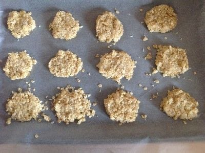 How to bake an oatmeal cookie. Anzac Biscuits - Step 6