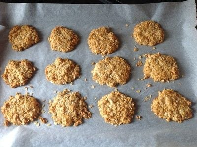 How to bake an oatmeal cookie. Anzac Biscuits - Step 7