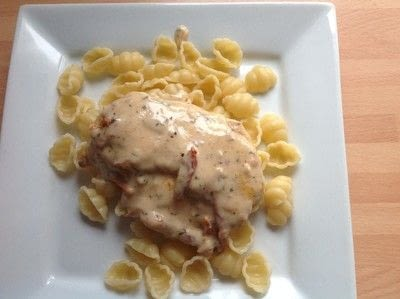 How to cook a chicken dish. Tuscan Chicken - Step 8