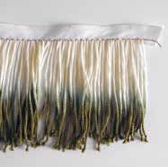 How to make a fabric fringe scarf. Dip Fringed Scarf - Step 2