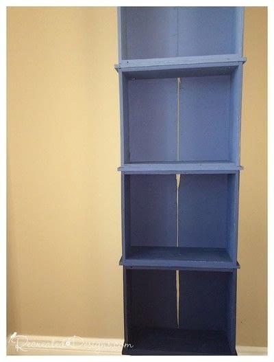 How to make a shelf. Building A Shelf Out Of Drawers - Step 5