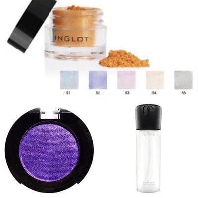 How to create a smokey eye. Purple Winged Smokey Eye - Step 5