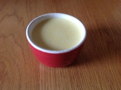 How to make a panna cotta. Coconut Panna Cotta - Step 5