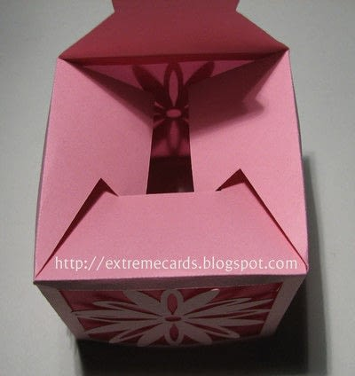 How to make a lantern. Daisy Votive Lantern - Step 3