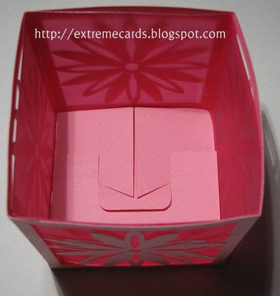 How to make a lantern. Daisy Votive Lantern - Step 6