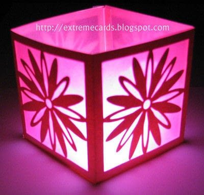 How to make a lantern. Daisy Votive Lantern - Step 7