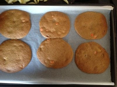 How to bake a cookie. Reeses Pieces Cookies - Step 7