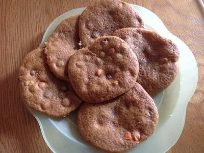 How to bake a cookie. Reeses Pieces Cookies - Step 8