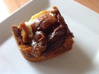 How to bake an apple cake. Apple Upside Down Cake - Step 9