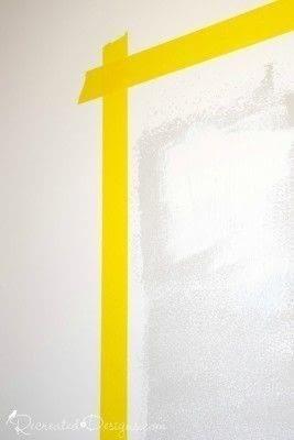 How to make a chalkboard. Making A Wall Chalkboard - Step 1