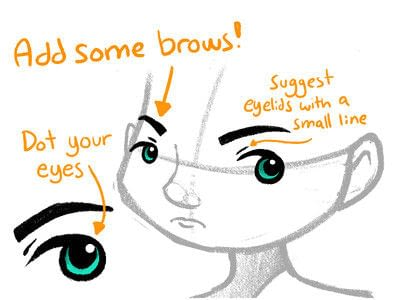 How to draw an eye drawing. Tutorial: Jake Draws Eyes - Step 5