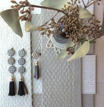 How to make a tassel earring. Tassels Earrings - Step 5