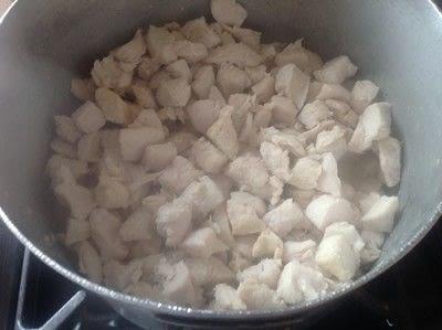 How to cook a chicken dish. Chicken & Pasta Bake - Step 2