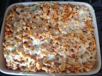 How to cook a chicken dish. Chicken & Pasta Bake - Step 10