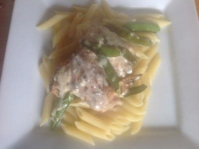 How to cook a chicken dish. Chicken Basil - Step 9
