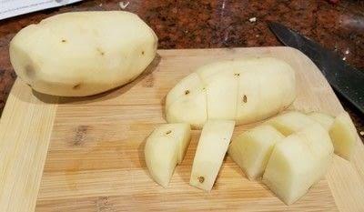 How to cook a skillet. Kielbasa Potato Skillet - Step 2