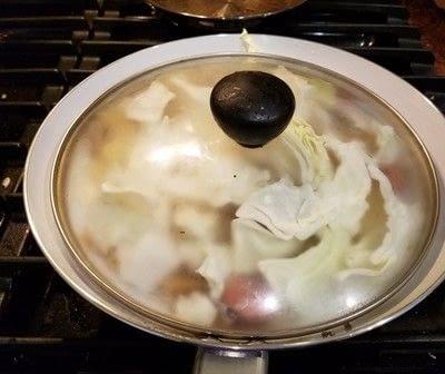 How to cook a skillet. Kielbasa Potato Skillet - Step 6