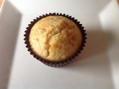 How to bake a muffin. Cherry & Vanilla Muffins - Step 7