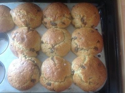 How to bake a chocolate chip muffin. Chocolate Chip Muffins  - Step 5
