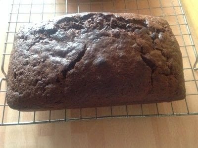 How to bake a cake. Courgette & Chocolate Loaf - Step 8