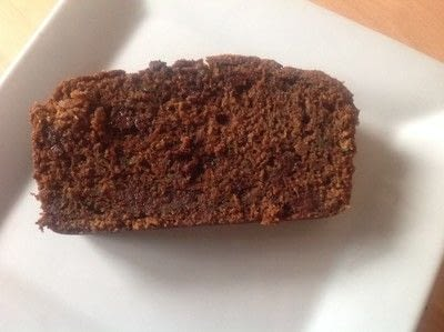 How to bake a cake. Courgette & Chocolate Loaf - Step 9