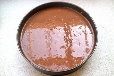 How to bake a cheesecake. Chocolate Orange Cheesecake - Step 13