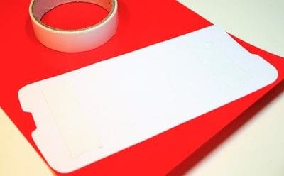 How to make a shrink plastic pendant. Red Bus Necklace - Step 2