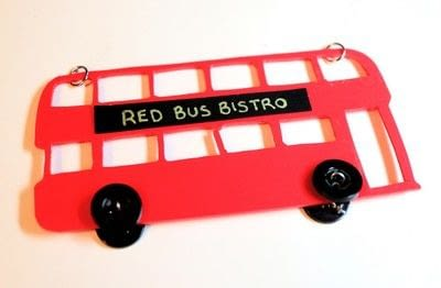 How to make a shrink plastic pendant. Red Bus Necklace - Step 15