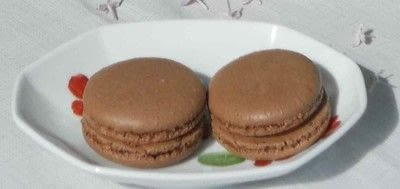 How to bake a macaroon. Chocolate Macaroons - Step 1