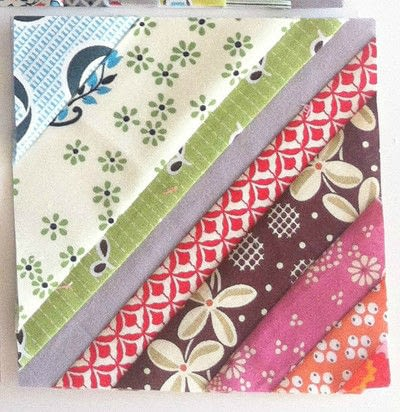 How to make a patchwork quilt. Octastring - Step 4