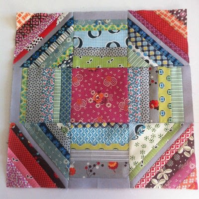 How to make a patchwork quilt. Octastring - Step 6