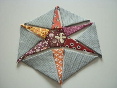 How to sew a patchwork cushion. Hexiestars - Step 2