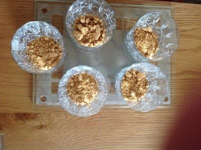 How to bake a cheesecake. Individual Lime Cheesecake  - Step 1