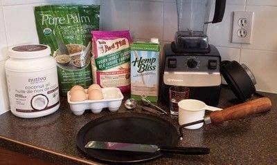 How to cook a crepe. Mémère's Crêpes - Step 1