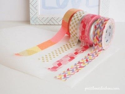 How to make a notebook journal. Diy Notebook Butterflies Cover With Masking Tape - Step 1