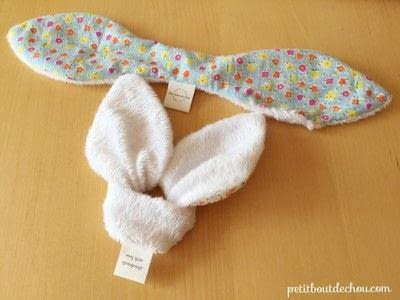 How to make a rattles. Diy: Bunny Ears Baby Teething Rattle - Step 4