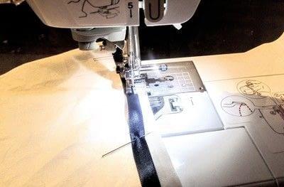 How to make a collar / bib. Sailor Collar - Step 5