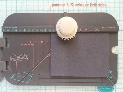 How to make a shaped card. Camera Shaped Cards - Step 3