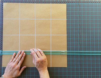 How to make a photo album. Easy DIY Fold Out Photo Album - Step 1
