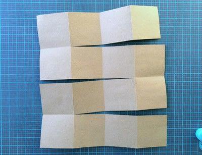 How to make a photo album. Easy DIY Fold Out Photo Album - Step 2