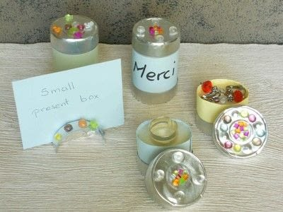 How to make a misc. With aluminium Cups : 1 - Small Present  Boxes - Step 1