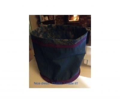 How to make a gift bag. Drawstring Gift Bag - Step 6