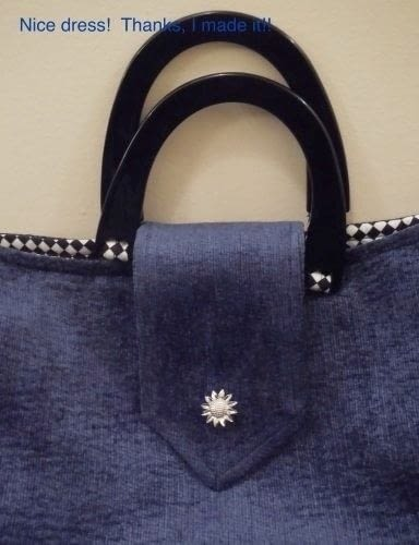 "How to make a handbag. The ""TA-DA"" Bag! - Step 15"