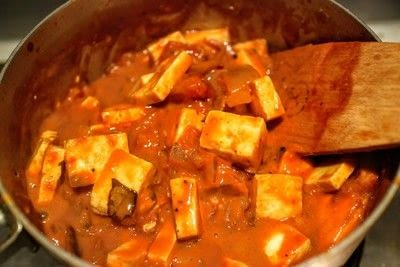 How to cook a curry. Tomato & Honey Butter Paneer - Step 10