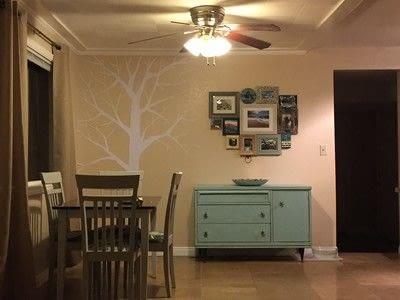 How to make wall decor. Fun Tree String Art - Step 2