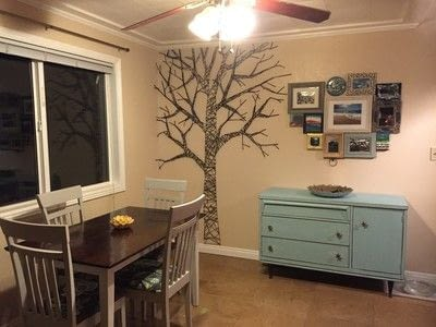 How to make wall decor. Fun Tree String Art - Step 6