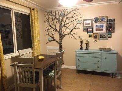 How to make wall decor. Fun Tree String Art - Step 9